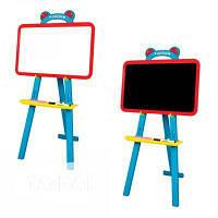 Детская доска для рисования мольберт 2в1 Kinderway 51-001