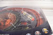 Комплект проводов для сабвуфера SX-4G (провода для подключения усилителя для сабвуфера), фото 3