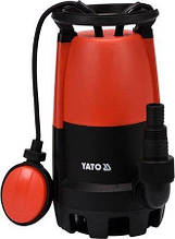 Насос для грязной воды 400 Вт YATO YT-85330 (Польша)