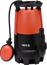 Насос для грязной воды 900 Вт YATO YT-85333 (Польша)