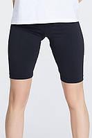 Женские шорты велосипедки черные