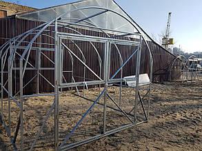Теплица Комфорт  3х8 под поликарбонат 4 мм стандарт класса 6 мм