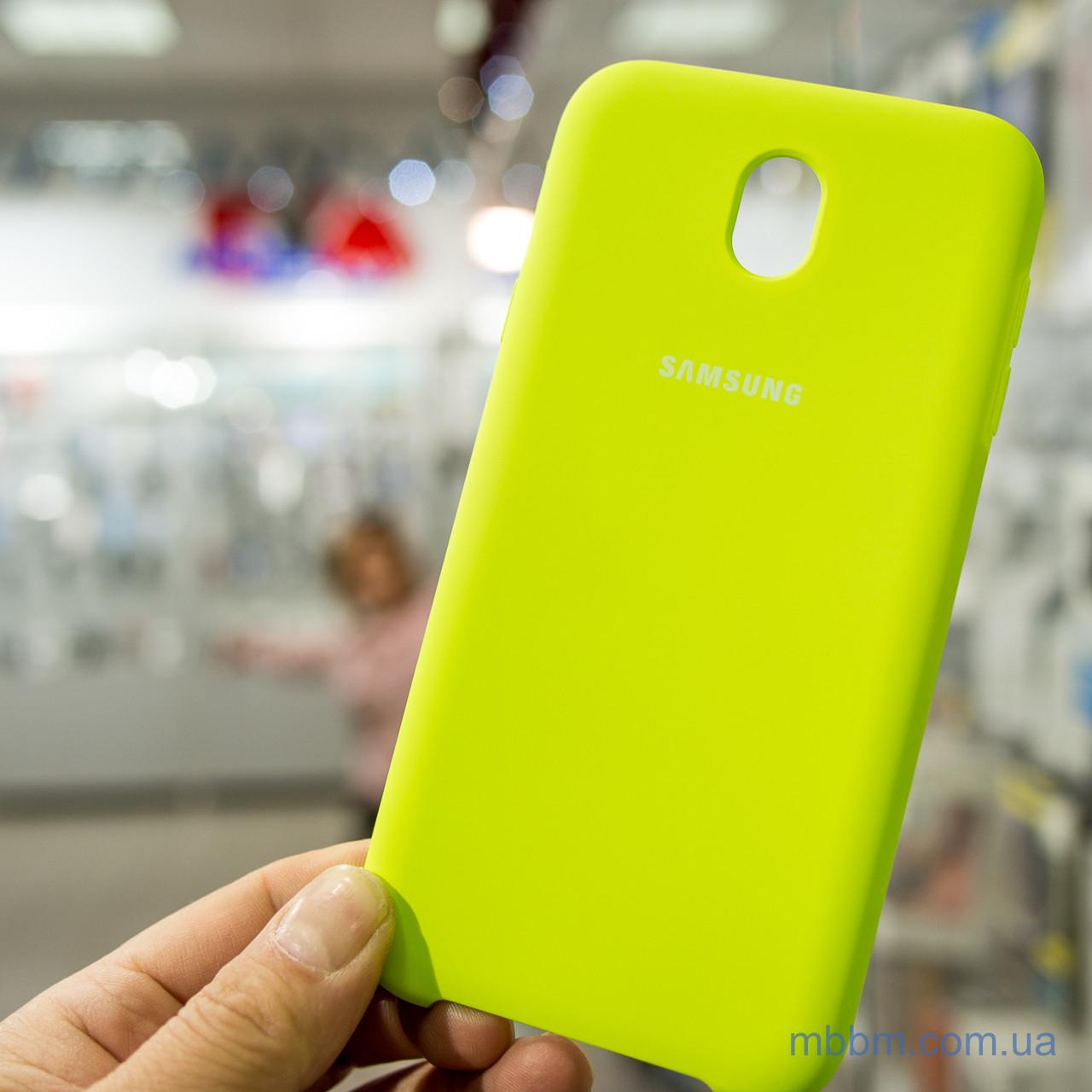 Чехол Original Soft Samsung J730 J7-2017 Lime