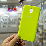 Чехол Original Soft Samsung J730 J7-2017 Lime, фото 3