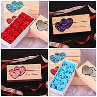 Подарочный набор Мыло Роза для Ванной Подарок на 8 Марта