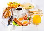 Журнальный стол прямоугольный Nice breakfast стеклянный, фото 3