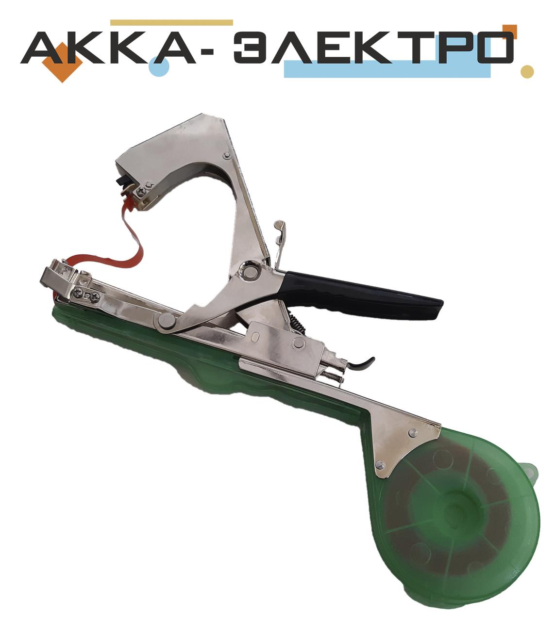 Садовий стрічковий інструмент для підв'язування рослин і дерев Tapetool tapener