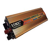 Преобразователь автомобильный напряжения инвертор AC/DC SSK 1500W 24V