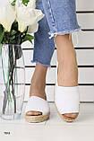 Женские эспадрильи с открытым носком, фото 3