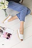Женские эспадрильи с открытым носком, фото 5