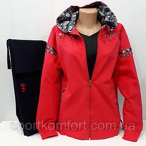Турецкий женский прогулочный костюм, Linke,  полубатал, хлопок 77, обмен/возврат.