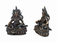 Статуя. Бронза. Дзамбала (Будда Богатства). Оксид (16х13х8 см)