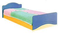 Детская кровать КТ-539 Эколь МДФ БМФ 80х200