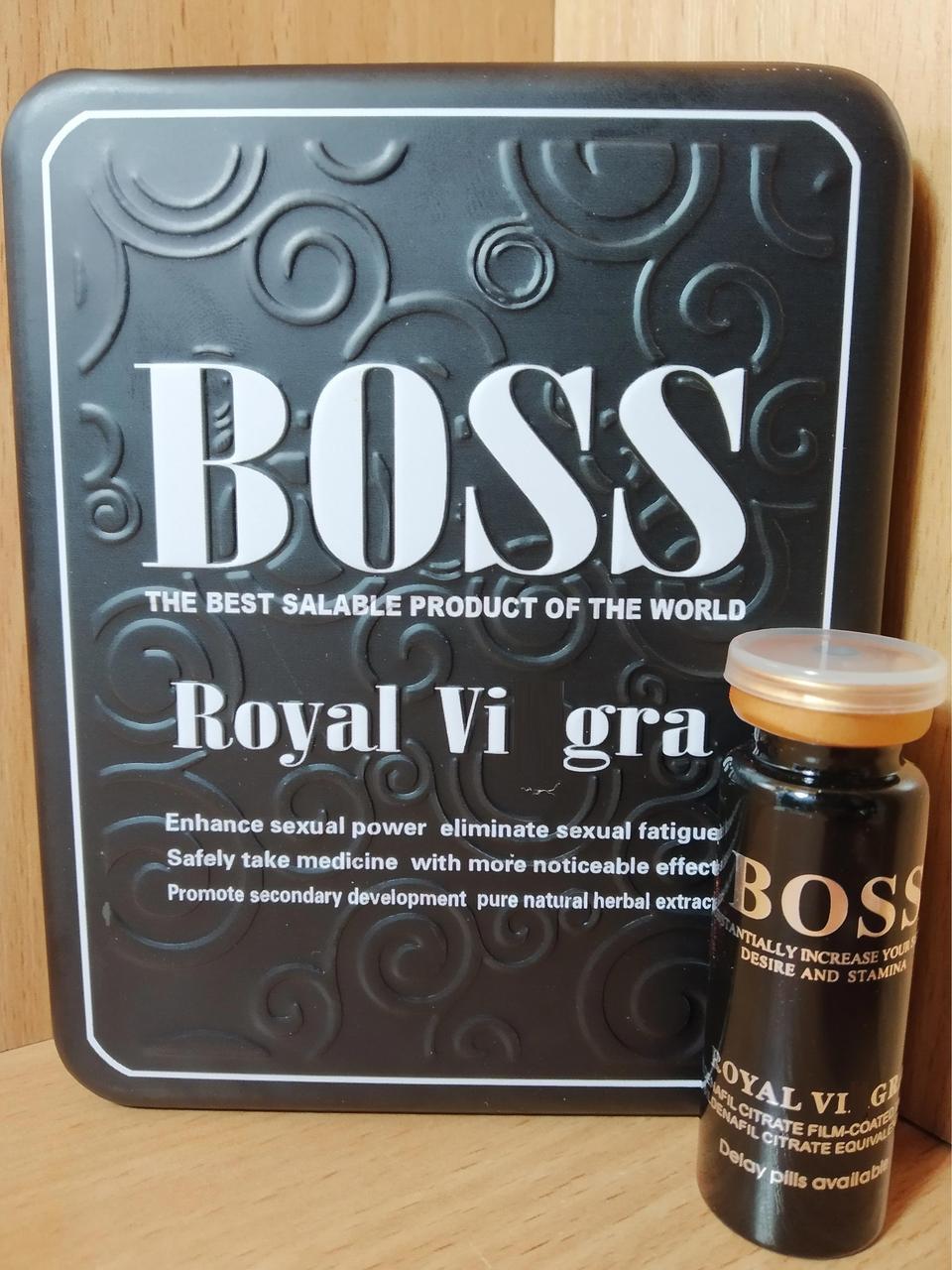 Босс Роял препарат для мужской потенции Boss Royal (10 таблеток)