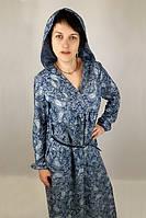 Платье летнее  из хлопка женское (46 размер) - пляжная одежда, туники, рубашки