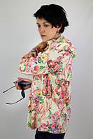 """Туника из штапеля """"Венеция"""" женская (52 размер) - пляжная одежда для детей, туники, панамы, рубашки"""