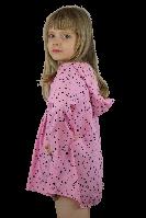 """Туника """"Звёздочки"""" розовая  (128-134) - пляжная одежда для детей, туники, панамы, рубашки"""