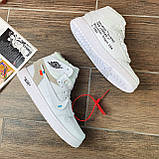Кроссовки мужские Nike Air Jordan x OFF-White  00039 ⏩ [ 40.41.42.43 ] о, фото 2