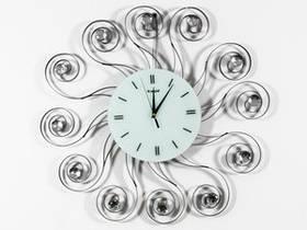 Часы Настенные Фигурные (60х60х5 см) Металл. Хрусталь. Le Soleil / Солнце