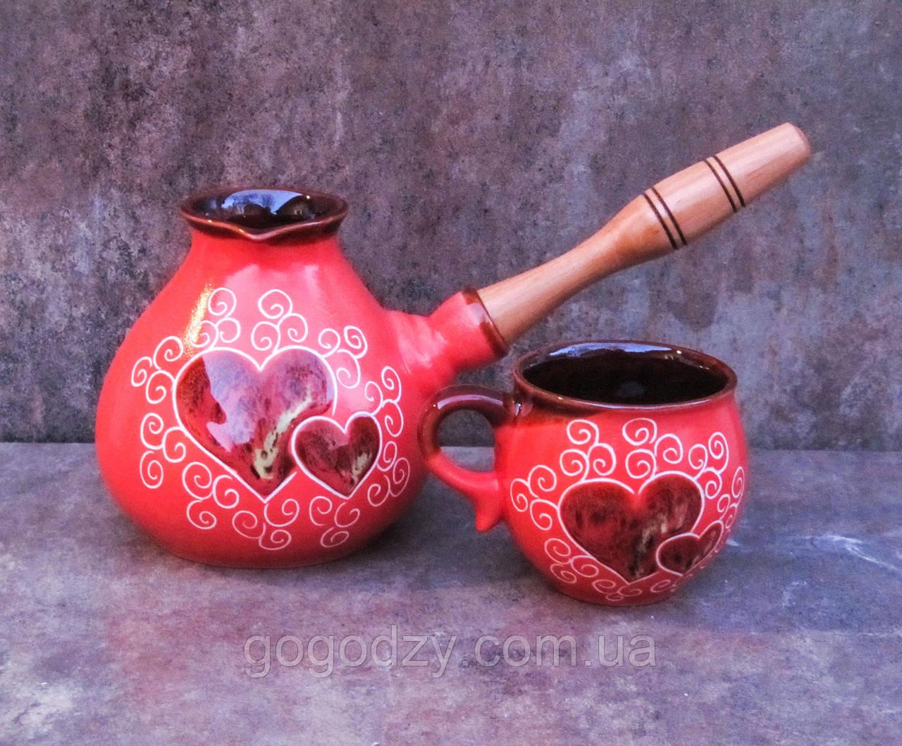 Набір кавовий Егоїст кулька червоний