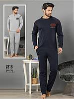Пижама мужская зимняя  интерлок Falkom 2818