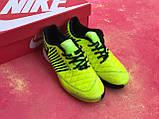 Футзалки Nike Lunar Gato II/найк лкнар гато/футбольная обувь/ о, фото 5