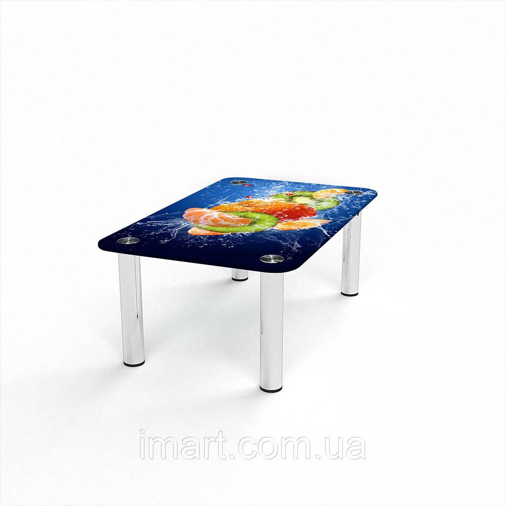 Журнальный стол прямоугольный Sweet Mix стеклянный