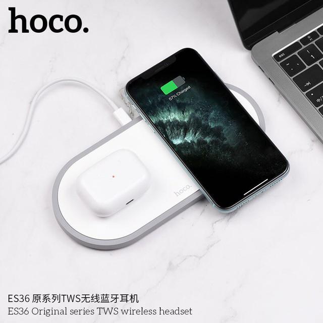 bluetooth Hoco ES39 Оригинал Вкладыши Bluetooth Прямой Белый
