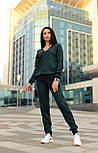 Женский стильный прогулочный костюм машинной вязки (в расцветках), фото 7