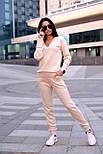 Женский стильный прогулочный костюм машинной вязки (в расцветках), фото 5