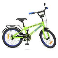 Велосипед для детей от 6 лет PROF1 T2072 салатовый качественный
