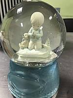 """Музыкальный стеклянный шар """"Молитва ребенка"""". Эксклюзивный подарок! (США)"""