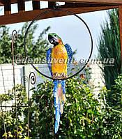Садовая фигура Попугай Ара керамический