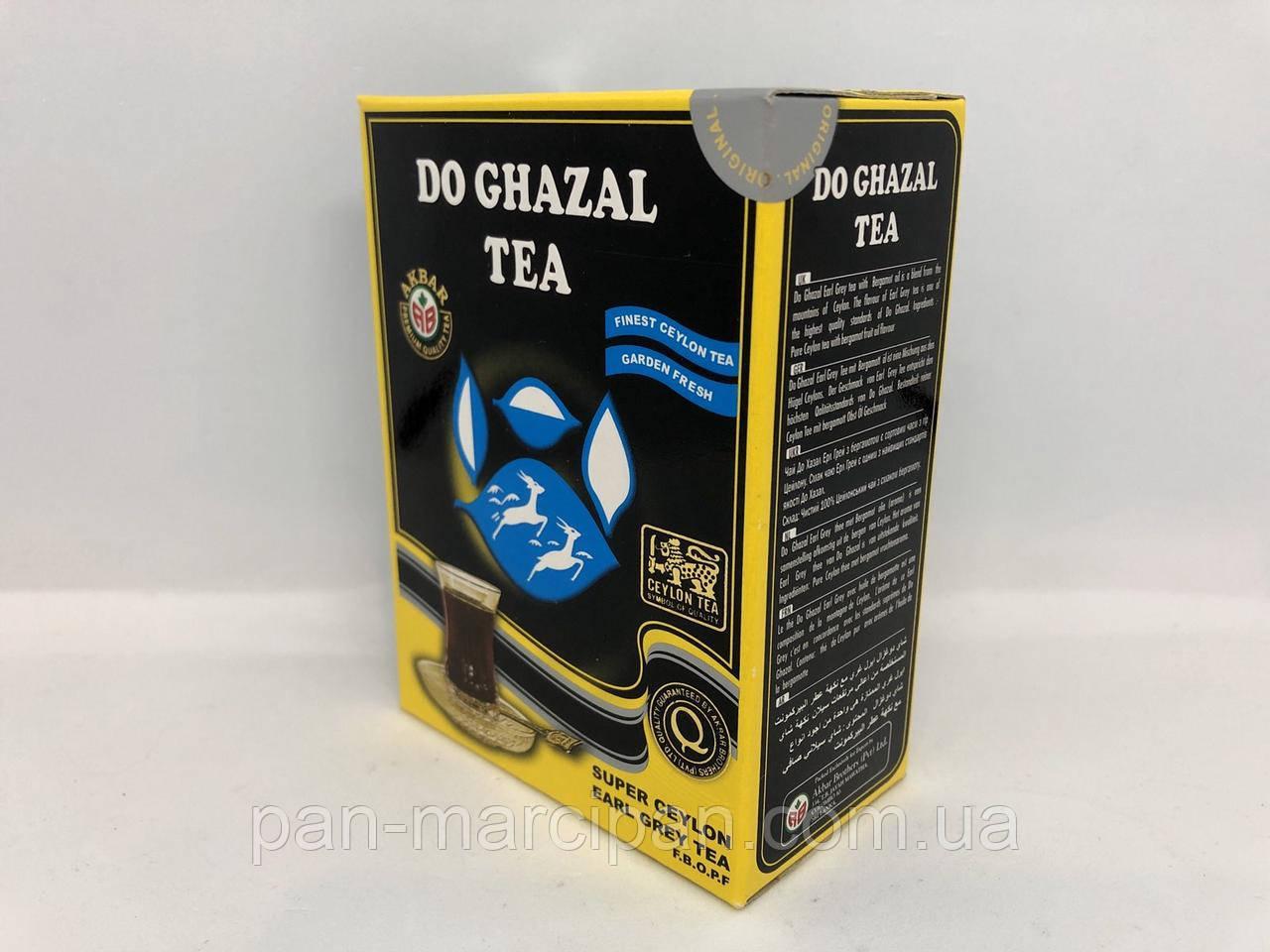 Чай листовий з бергамотом Do Ghazal Tea 100г