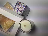 Свечи натуральные из соевого воска