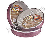 Противень с антипригарным покрытием Stenson D24/26/28см (цена за набор 3шт)