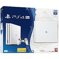 Игровая приставка Sony PlayStation 4 Pro 1TB Limited Edition White PS4 Pro