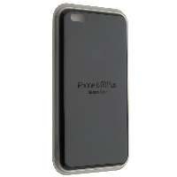 "Чехол Silicon iPhone 6s Plus - ""Черный №18"""