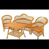 """Комплект плетеная мебель из лозы """"Классик"""". Мебель для дома, дачи, ресторана, отеля"""