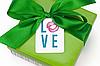 """Бирка декоративна 208 """"Love"""""""