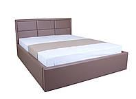 Кровать с мягким изголовьем и подъемным механизмом Агата MELBI 180х200