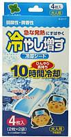 Air Doctor Гелевый пластырь для снижения температуры Hiyashi-Masu (4 листа) Мятный