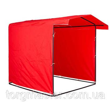 Палатка торговая, рекламная, агитационная 1.5х1.5м  Ткань Оксфорд 230гр/м2 + Каркас 20мм