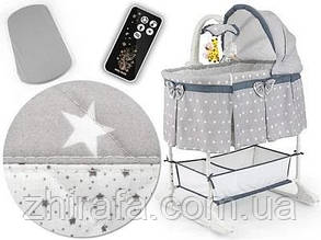 Детская кроватка люлька колыбель Milly Mally Sweet Melody 4в1 Star