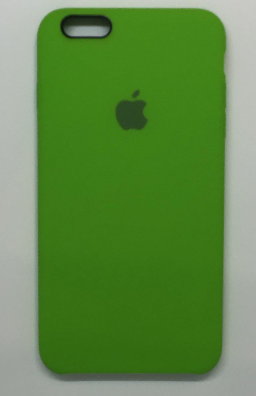 """Чехол Silicon iPhone 6s Plus - """"Лайм №31"""""""