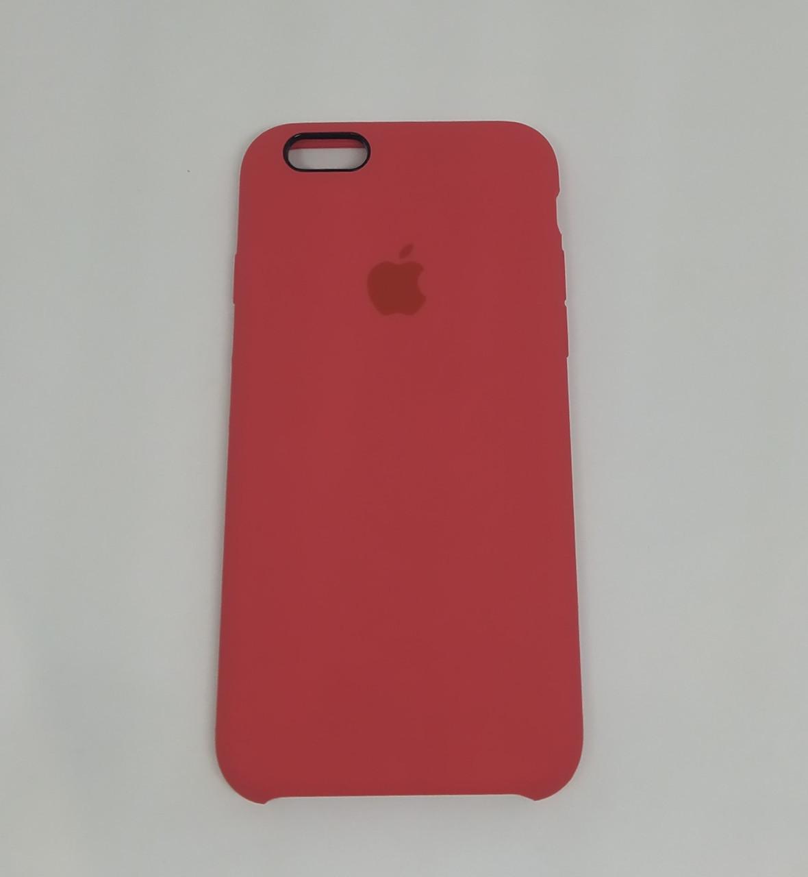 """Чехол Silicon iPhone 6s Plus - """"Красная малина №39"""""""