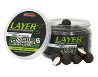 Бойлы Starbaits LayerZ Pop-Up Totally Bloodworm Coated White 14mm 60g
