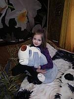 Детский плед с игрушкой трансформер Игрушка подушка с пледом в ассортименте Собака