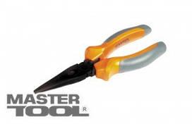 MasterTool  Щипцы прямые 160 мм, С50, фосфатированные, HRC 55~65, Арт.: 25-2160