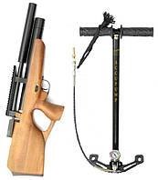 АКЦИЯ! - винтовка Koзak ZBROIA PCP Compact  + насос в подарок!